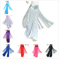 BellyLady Womens Ladies Fashion Belly Dance Hip scarf Sequined Fringe Skirt Wrap
