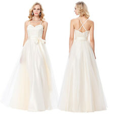 Bridesmaid Wedding Formal Long Evening Party Dresses Prom Gown Cocktail Pageant
