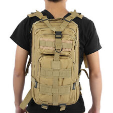 Military Army Tactical Backpack Pack Assault Digital Hunting Desert Barrage