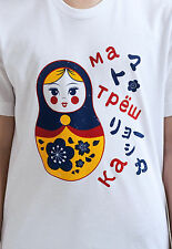 Japanese T Shirt Russian Doll Matryoshka Dolls Kawaii Japan Soviet Anime Manga