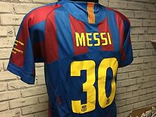 FC Barcelona Home Shirt - 2006 Champions League Final - MESSI 30