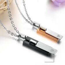 316L Stainless Steel Jewellery Couple Simple Valentine Pendant Necklace Lover