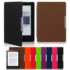 Magnetic Auto Sleep Leather Cover Case For KOBO AURA H2O eReader Touch Pen