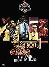 Kool & the Gang - Live from House of Blues (DVD, 2001) RARE-OOP