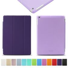 Smart Cover for Apple iPad mini Air Lightweight Leather Cover & Back Hard Case