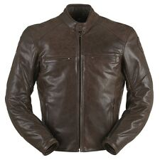 Furygan Vince Corsaire Classic Leather Motorcycle Motorbike Jacket All Sizes