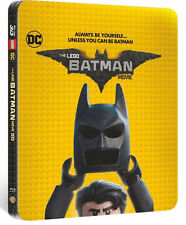 The Lego Batman Movie (STEELBOOK)(Blu-ray 3D + Blu-ray + Digital)(All 2017 NEW)