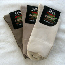3 Pair Women's Bamboo Socks extra soft Soft rim without elastic Natur 35 bis 42