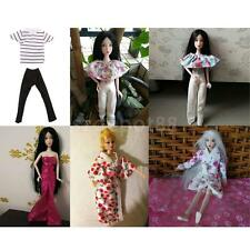 Colorful Fashion Handmade Doll Clothes Outfit for Barbie/Ken Dolls Dress Up