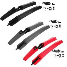 Bike Bicycle Mudguards Mountain MTB Cycling Fender Front Rear Mud Guard Set