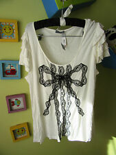 Marks&Spencer PER UNA white Summer Top Size 22