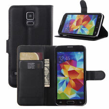 For Samsung Galaxy S5 i9600 Flip Card Wallet PU Leather Case Stand Wallet Cover