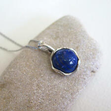 Adita NEW 925 Sterling Silver Blue Lapis Necklace | HANDMADE Gemstone Necklace