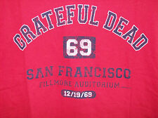GRATEFUL DEAD SAN FRANCISCO 69 T-SHIRT NEW OFFICIALLY LICENSED LIQUID BLUE LARGE