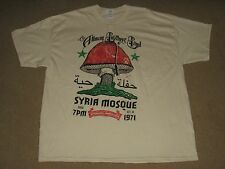 The Allman Brothers Band Syria Mosque 1971 Defect 2X-Large Natural T-Shirt