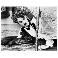 Poster Print Wall Art entitled Charlie Chaplin (1889-1977), actor and comedian