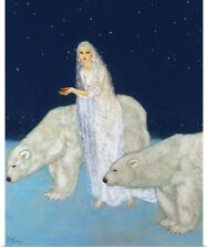 Poster Print Wall Art entitled Dulac: The Ice Maiden, 1915