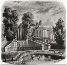 Poster Print Wall Art entitled Le Petit Trianon At Versailles, France