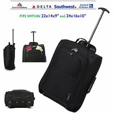 Lightweight Carry On Hand Luggage Wheeled Travel Trolley Bag United Airlines