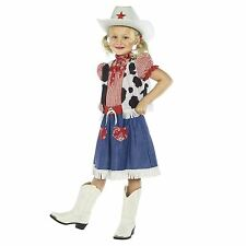 Cowgirl Sweetie Costume Kids Girls Child Cowboy Fancy Dress Outfit Wild West New