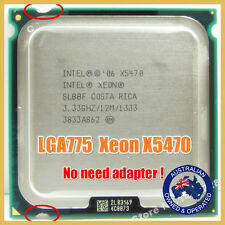Intel Xeon X5470 LGA 775 3.33GHz 12Mb 1333Mhz Core 2 Quad Processor - Mfg Direct