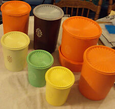 Tupperware Canister REPLACEMENT PIECE Servalier VTG Push Seal Lid CHOICE Pick 1