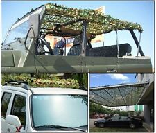 Woodland Camouflage Net Sunshade Netting for Outdoor Camping Hunting Shooting