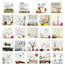 Removable PVC Home Living Room Decor Art Wall Decal Stickers Bedroom Mural DIY