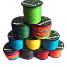 9 colors 100M 6-100lb 100% PE Dyneema Multifilament Spectra Braided Fishing Line