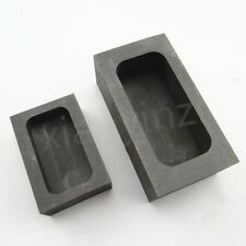 Graphite Casting Ingot Mold for Gold/Silver Melting Refining Scrap 5OZ or 22OZ