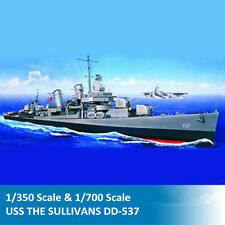 Trumpeter 05304 05731 1/350 1/700 Scale USS THE SULLIVANS DD-537 Warship Model