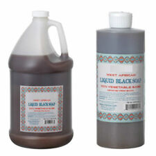 Liquid African Black Soap Raw From Ghana 100% Pure Natural 1 OZ To Gallon