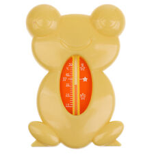 Baby Bath Tub Thermometer Safety Floating Frog Design Measure Water Temperature
