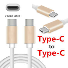 1M/3FT Type-C To Type-C Male TPE Quick Charger Data Sync Cable For USB-C Device