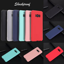 For Samsung S8/S8 Plus Luxury TPU Silicone Ultra Thin Frosted Back Cover Case