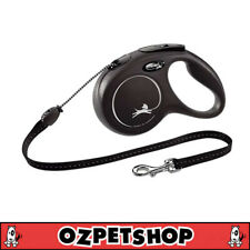 FLEXI Classic Retractable Dog Lead - 5m Cord for Medium dogs up to 20kg