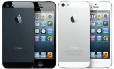 Apple iPhone 5 4s-16GB 32G (Factory Unlocked)Smartphone Black, White Phone*