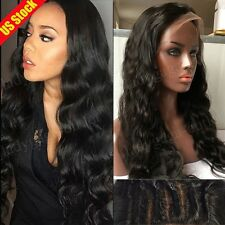 Brazilian Human Hair Lace Front Wig Glueless Human Full Lace Wigs Unprocessed gx
