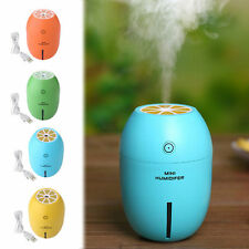 Lemon Humidifier LED Home/Car/Office Ultrasonic Aroma Diffuser Mini Air Purifier