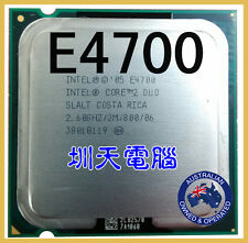 Intel Core 2 Duo E4700 LGA 775 2.6Ghz 2Mb 800Mhz Dual Core Processor-Mfg Direct