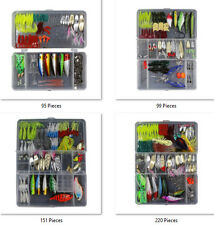 Fishing Lure Sets Spoons, Soft Plastics, Poppers, Cranks, Rattlins, Spinnerbaits