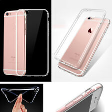 Ultra thin Transparent Clear TPU Silicone Soft Case Gel Skin Cover For iPhone 7