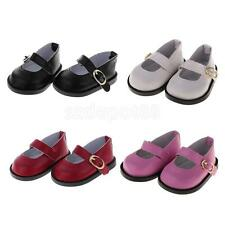 Adorable Doll Party PU Leather Ankle Belt Shoes for 18'' American Girl Gotz Doll