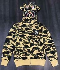 Classical Shark Jaw Unisex Bape Rabbit ears Pattern Jacket A Bathing Ape Hoodie