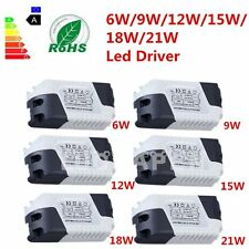 New Dimmable LED Light Lamp Driver Transformer Power Supply 6/9/12/15/18/21W MG