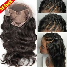 Top Remy 100% Human Hair Full Lace Wig Glueless Lace Front Wig with Baby Hair wn