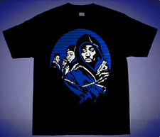 New2 xi Blk Blue Juice movie shirt match air jordan 11 space jam cajmear M L 2XL