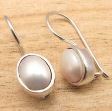925 Sterling Silver Plated Natural Gem Comfirt Fit Earrings Online Jewelry Store