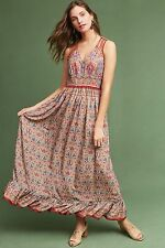 NEW Anthropologie Crespi Maxi Dress by Ranna Gill Size XS