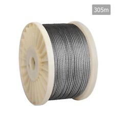 7x 7 Marine Stainless Steel Wire Rope 305M